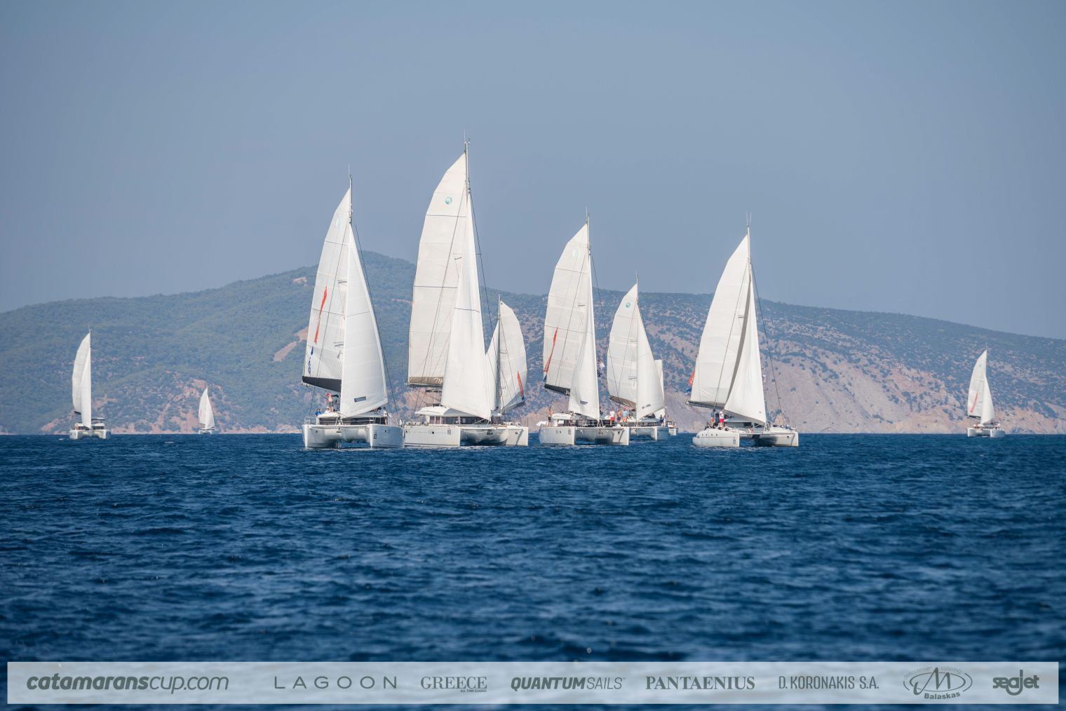 Lagoon célèbre les 10 ans de la Catamarans Cup !