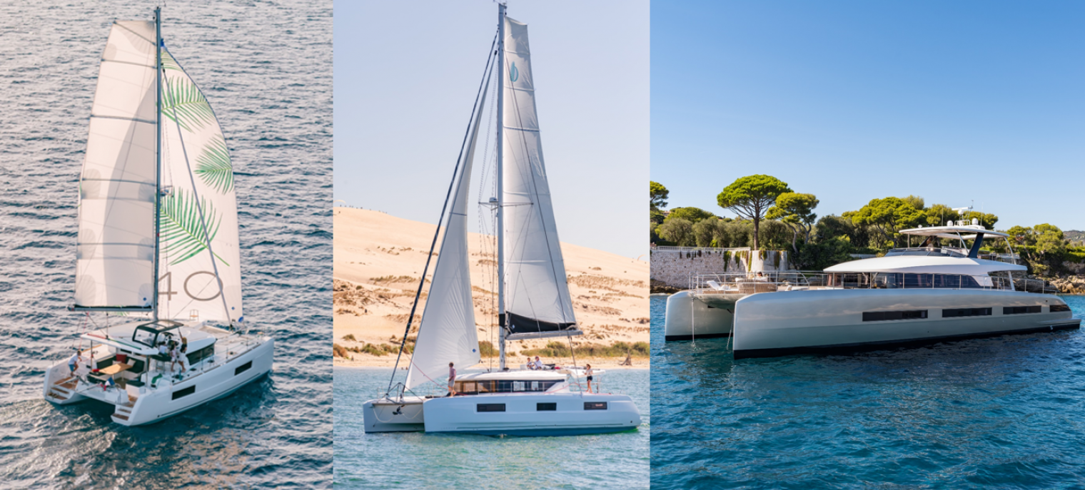 Get on aboard the Lagoon 40, Lagoon 46 and SEVENTY 8 !