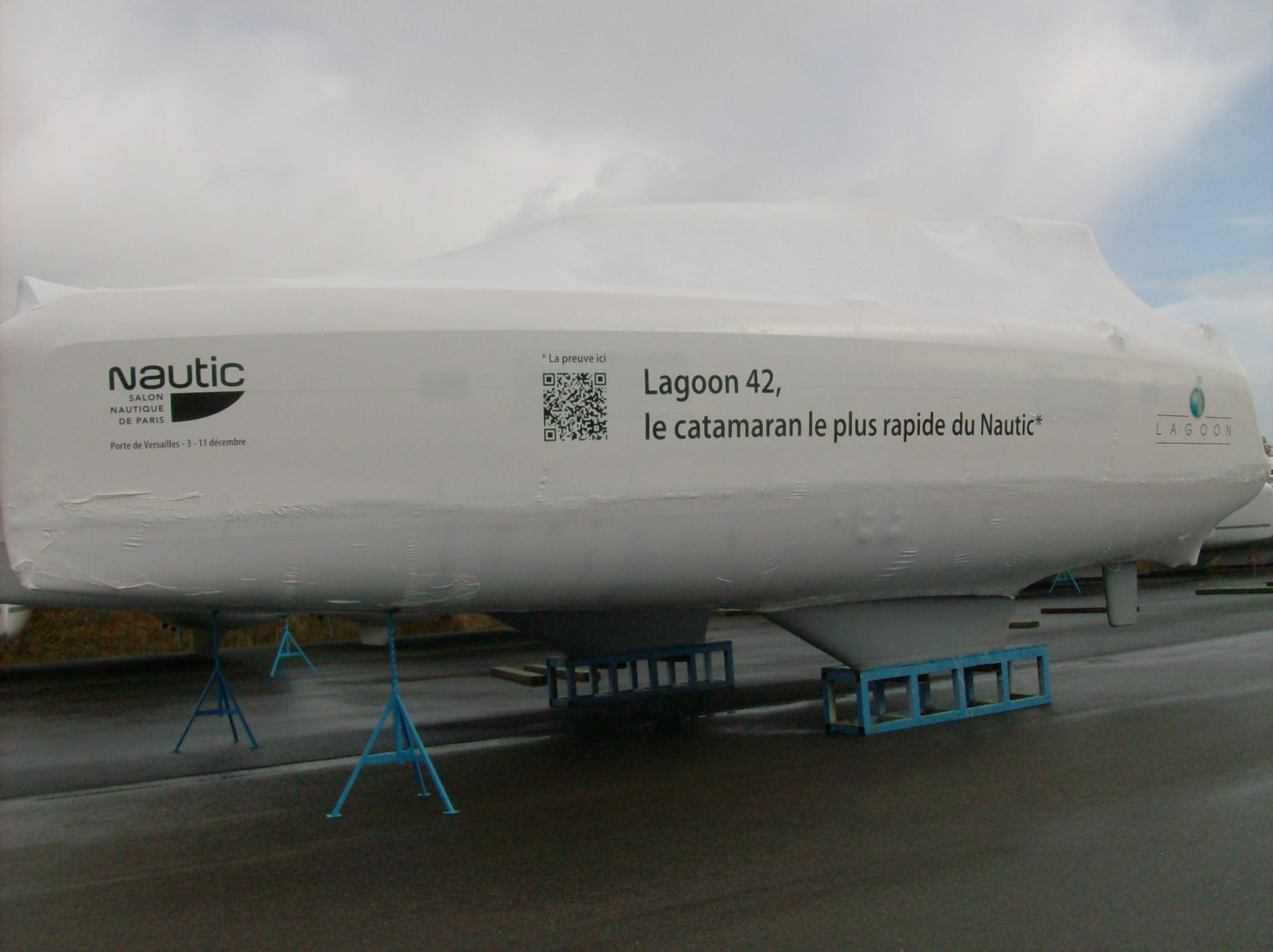 42 : le catamaran le plus rapide du Nautic de Paris !