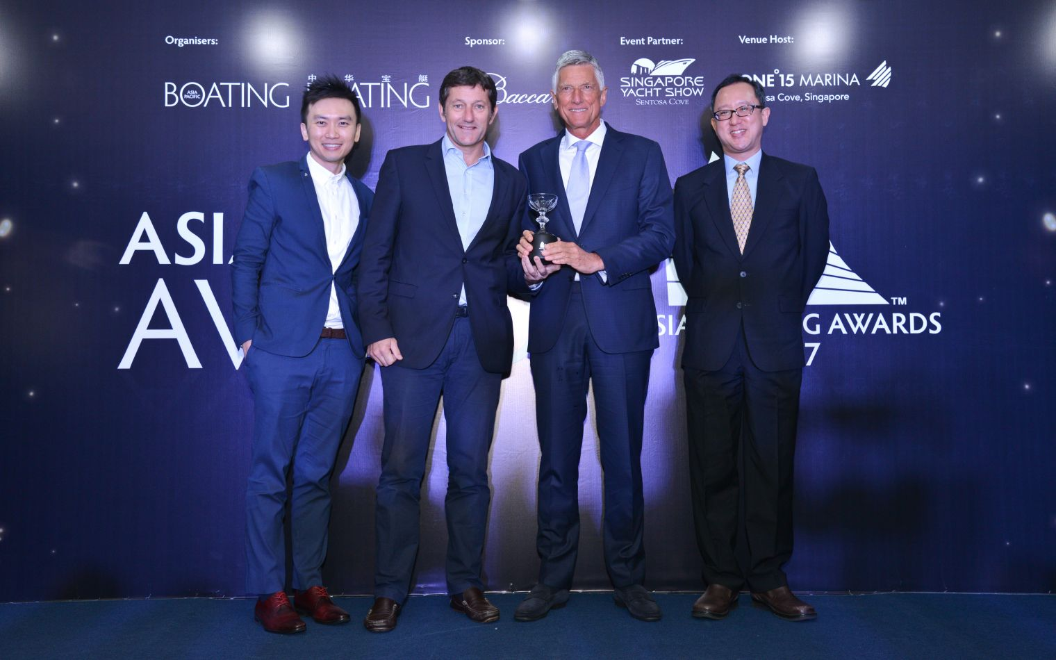 The SEVENTY 7 wins an award in Asia