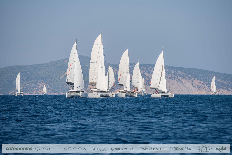 Lagoon celebra i 10 anni della Catamarans Cup!
