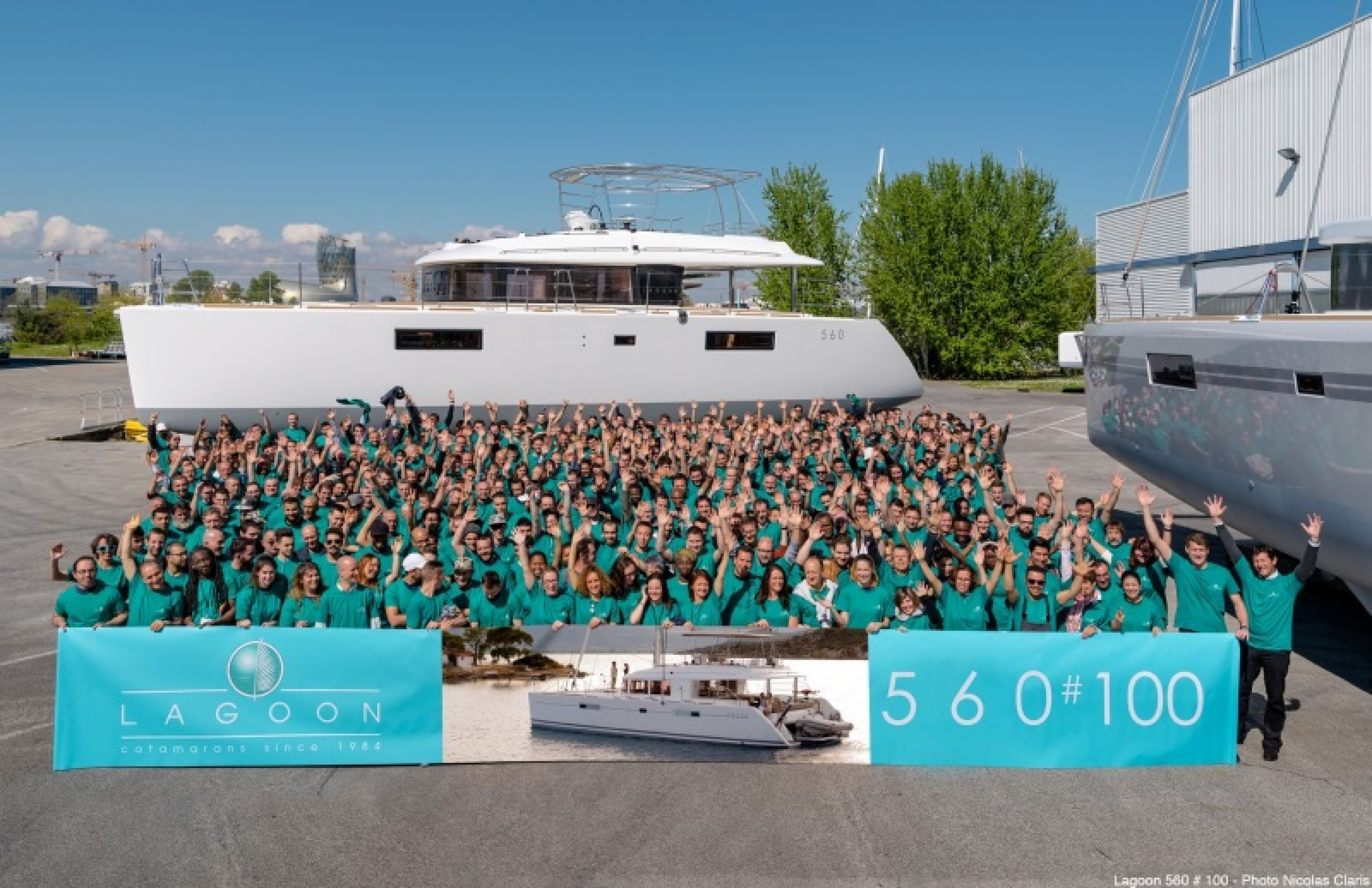 The 560: the 100th hull comes out of the yard!
