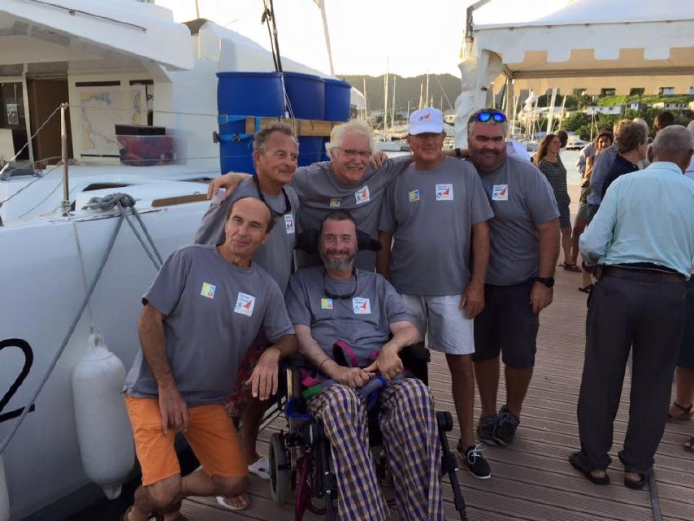 An Atlantic crossing in a wheelchair: Jean d'Artigues reached his goal!