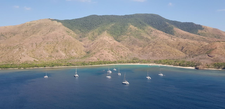 Première Escapade Lagoon aux Philippines !