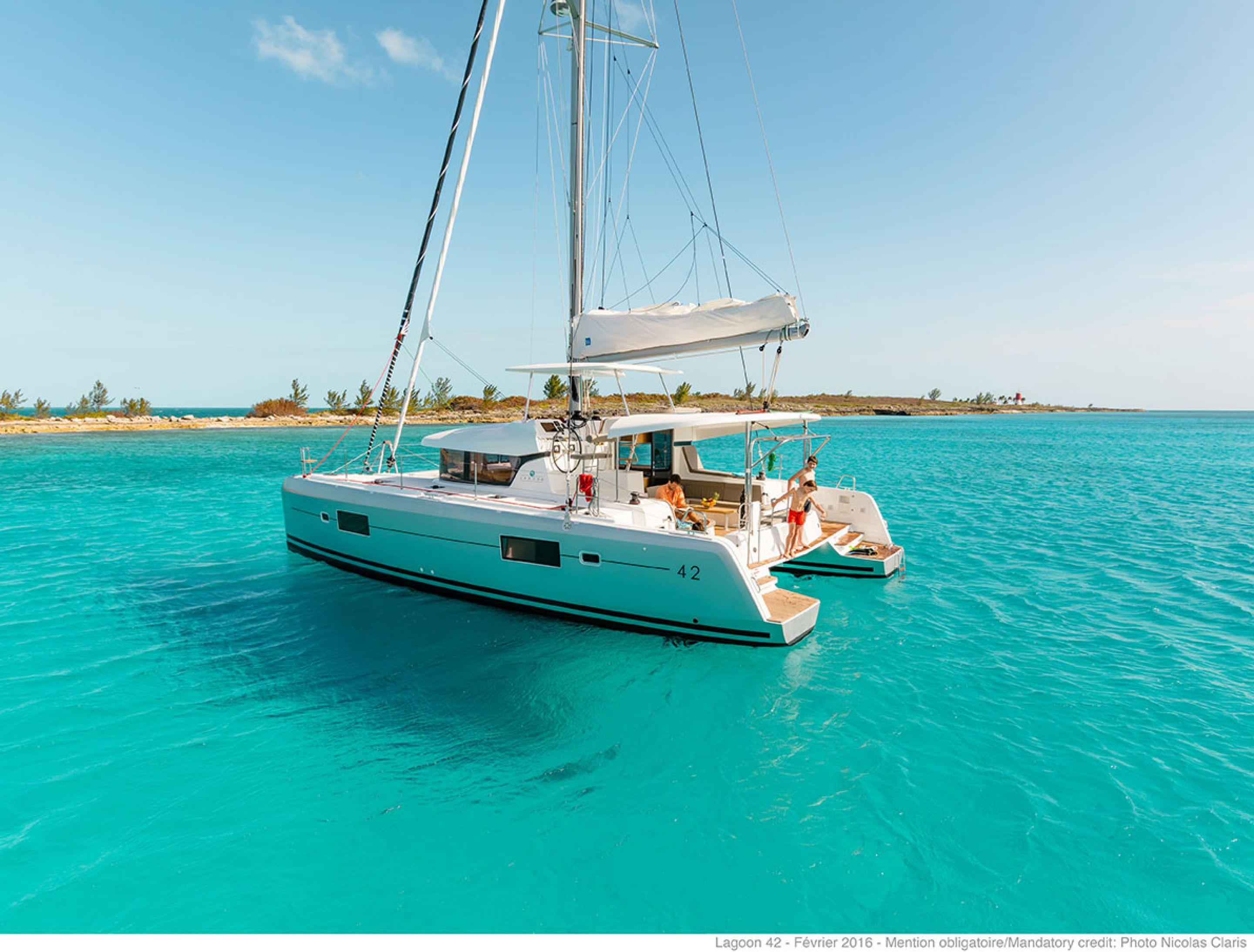 lagoon catamaran   vente  location  construction de