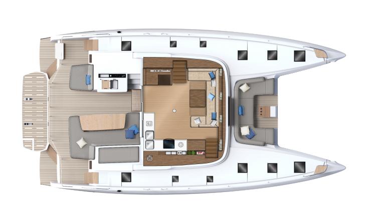 Carré- cockpit - version 4/5 cabines