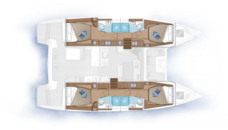 Layout 4 cabin version