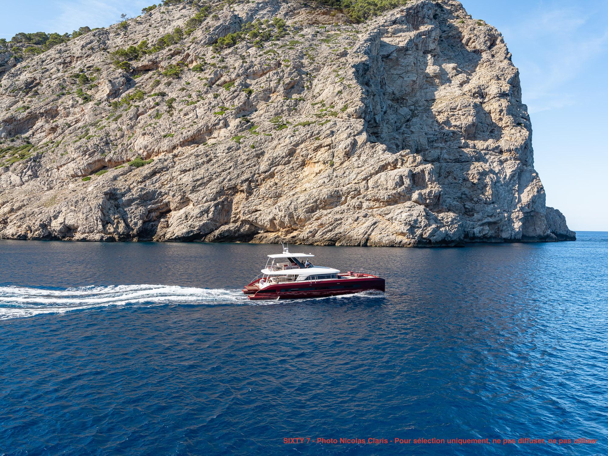 SIXTY 7 catamaran